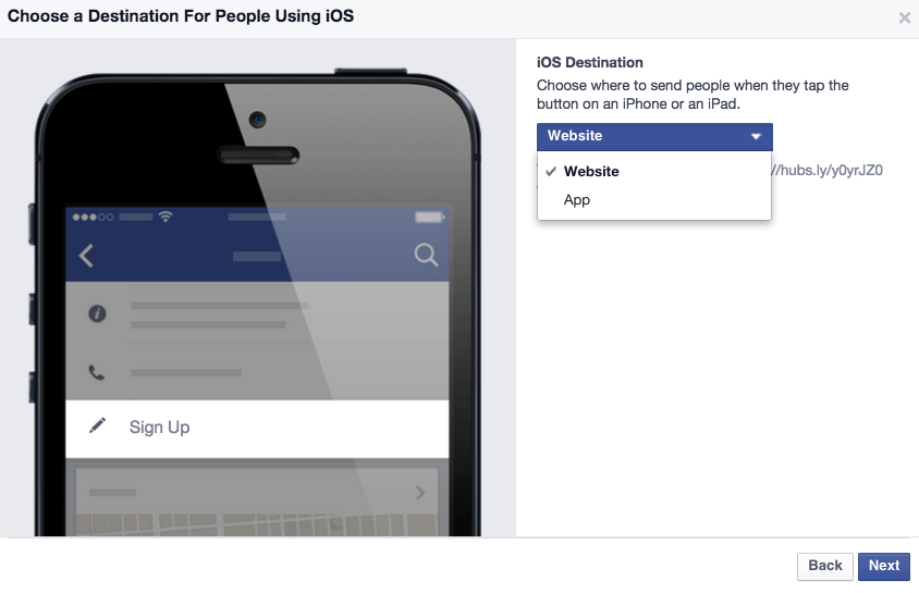 how to add a menu to a facebook page