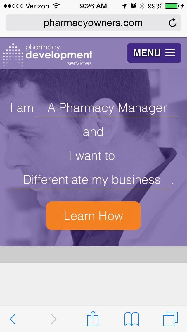 pharmacy development services