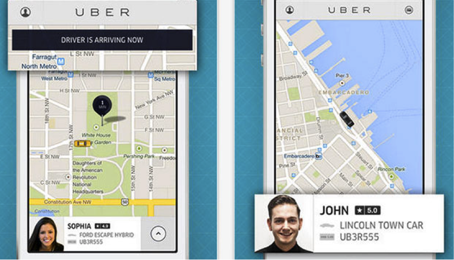 Uber-Lyft-sales-app
