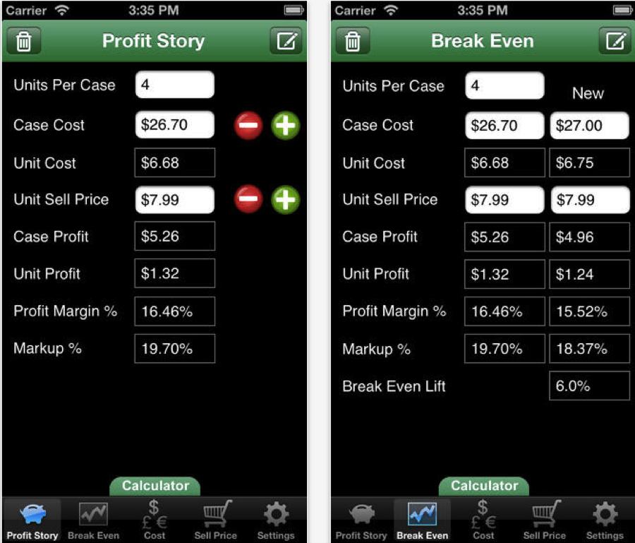 Profit-Story-sales-app