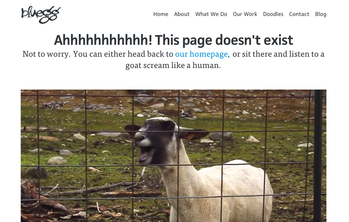4 Types of 404 Error Pages That Surprise & Delight Visitors
