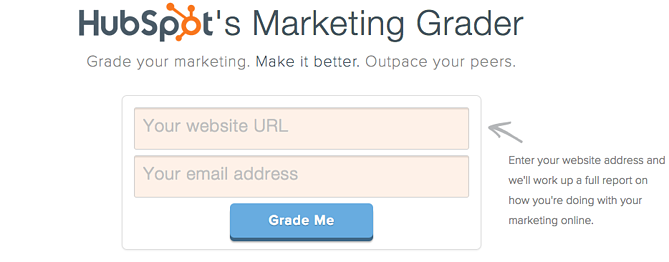 HubSpotMarketingGrader