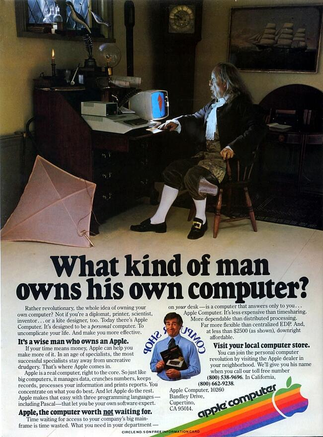 apple-ben-franklin-ad