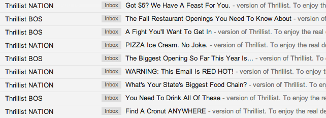 Thrillist_Newsletter_subject_lines_in_Inbox_Example