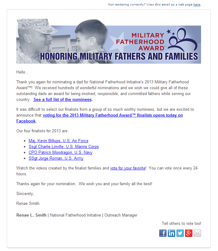nonprofit-email-marketing-dad-awards