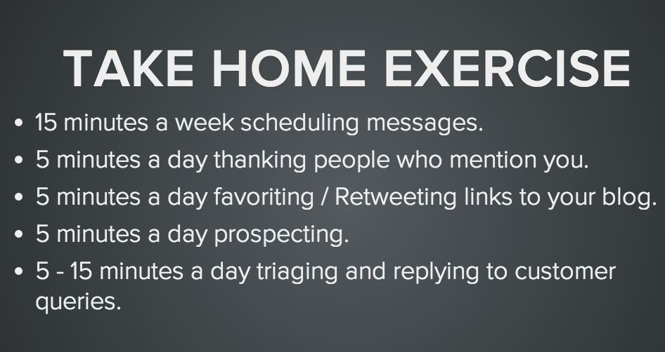Your Weekly Social Media To-Do List [In Under 100 Words]