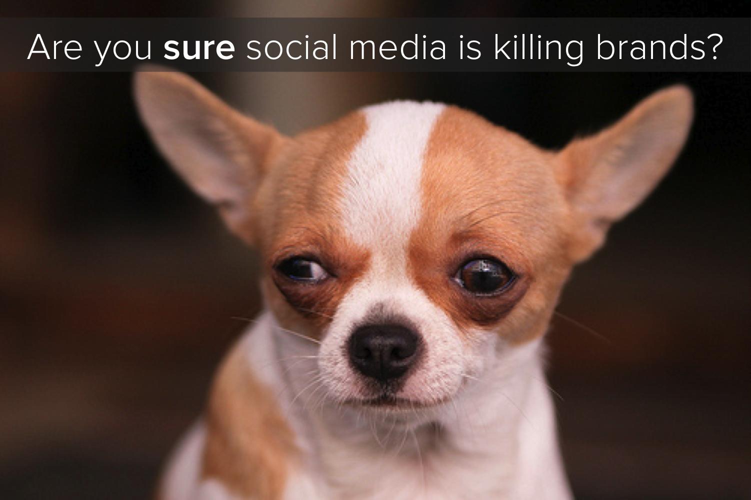Is Social Media Killing Brands?