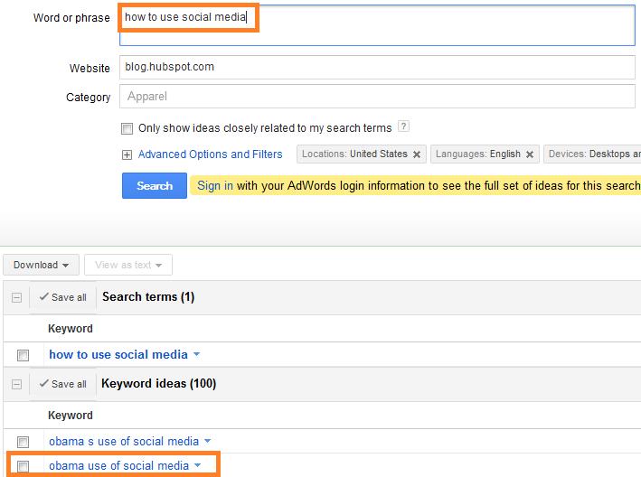 keyword-suggestions