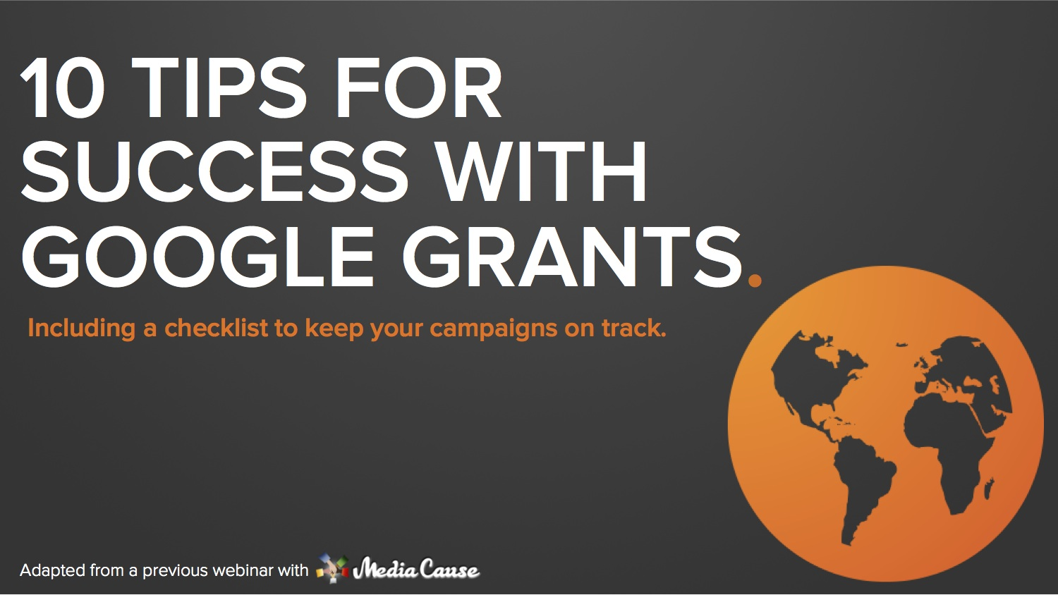 10 ways nonprofits can make the most out of google grants
