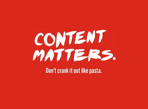 content-matters