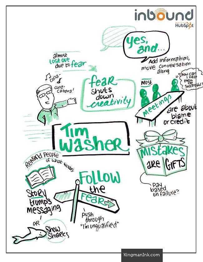 Tim Washer Bold Talk Graphic Recording