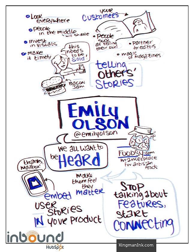 Emily Olson LaFave Bold Talk Graphic Recording