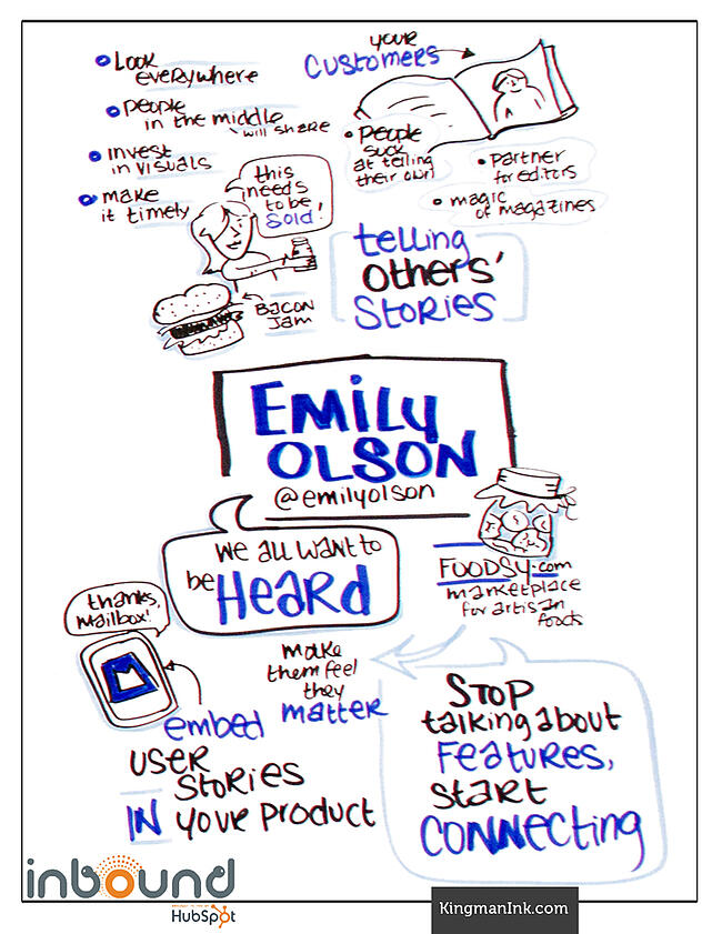 Emily Olson LaFave Bold Talk Graphic Recording