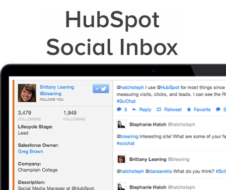 HubSpot Announces Social Inbox: An Integrated App to Make Social Media Personal Again