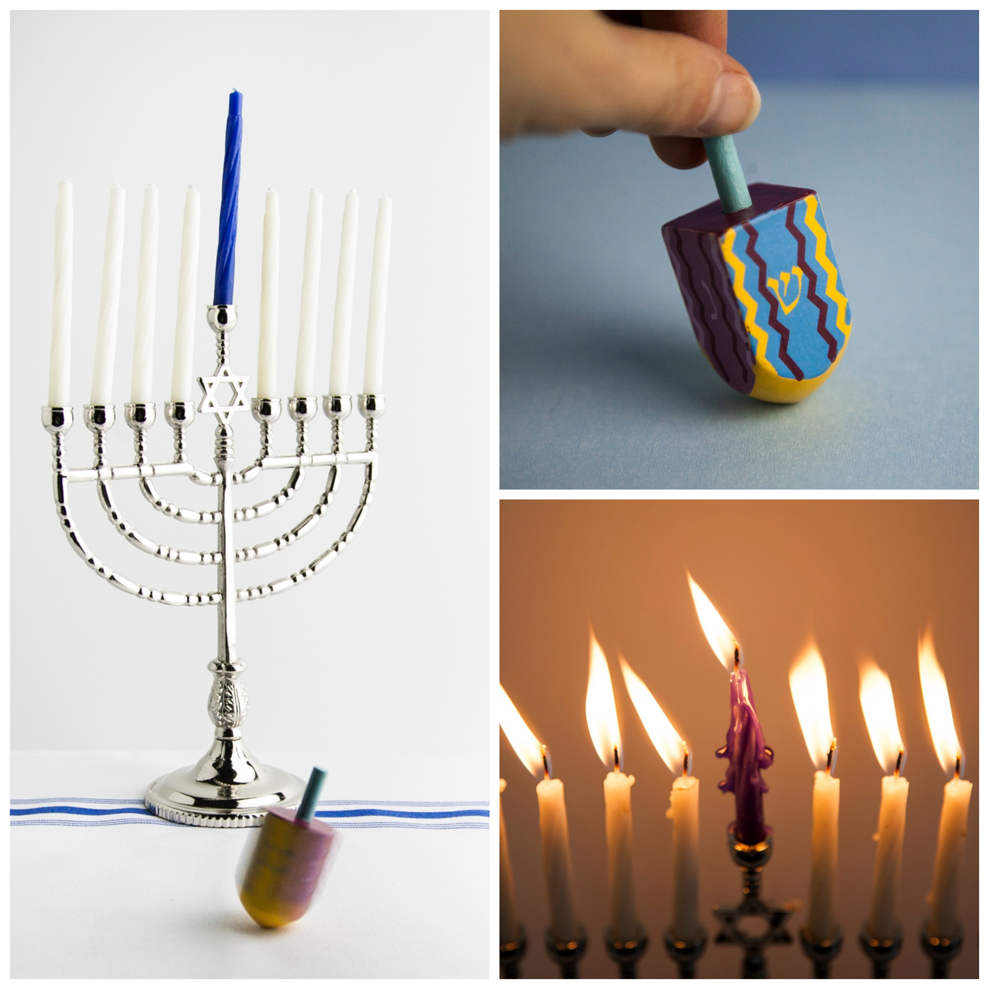 Hanukkah-Collage