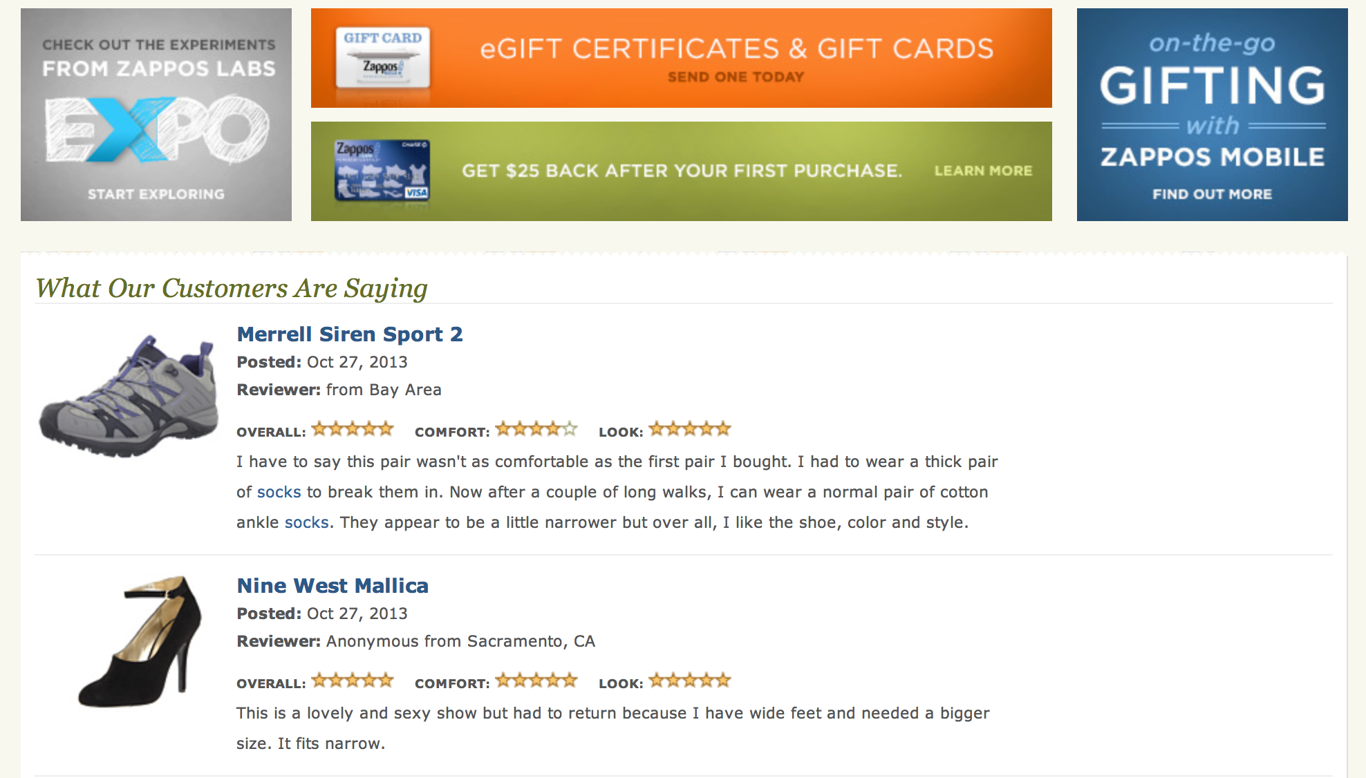 necessary ecommerce site features customer reviews