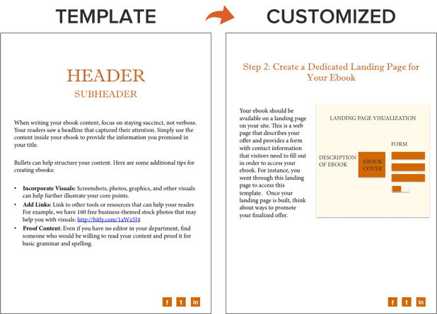 How To Create An Ebook From Start To Finish Free Ebook Templates - Ebook cookbook template