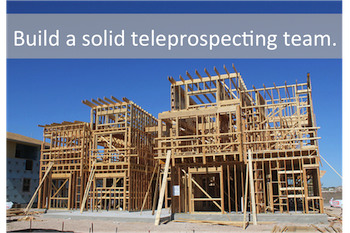 build-teleprospecting-team
