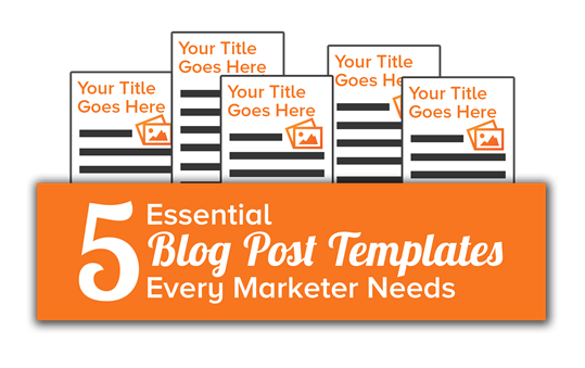 A Blog Post To Help You Write Blog Posts 5 Free Blogging Templates