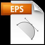 EPS image file icon