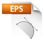 EPS image file icon