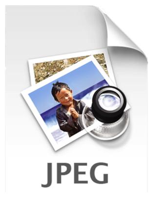 JPEG image file icon