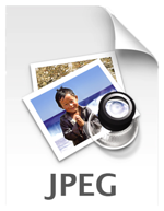 JPEG image file icon