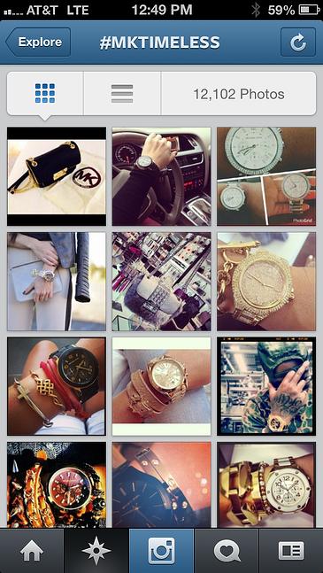 michael kors instagram contest