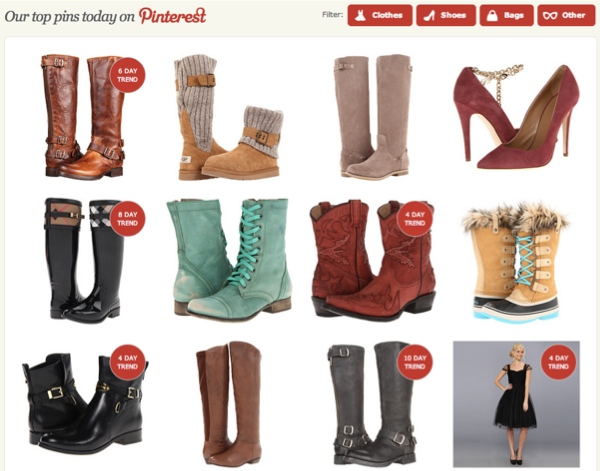 zappos-pinterest-page