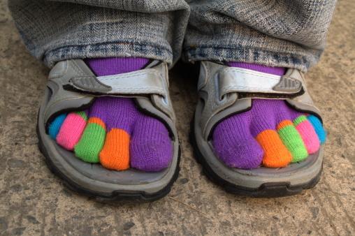 socks-sandals