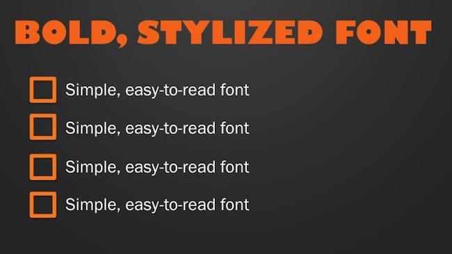 choosing_fonts_slideshare
