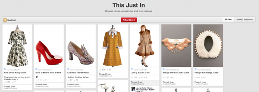 ecommerce pinterest example
