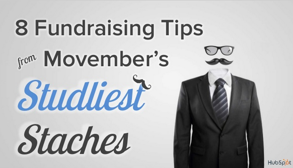 Movember's Studliest Staches Share Their Fundraising Tips [SlideShare]