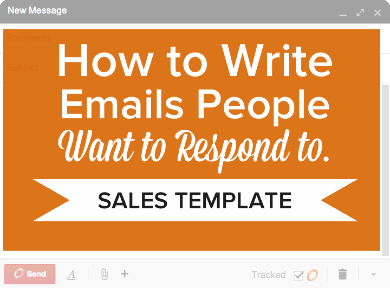 How to Write Emails People Want to Respond To [SlideShare]