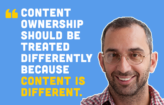 Creators vs. Corporations: Who Owns Company Content? #GreatDebate