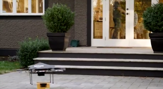 NEWS: Amazon To Offer Same Day Delivery... With Airborne Drones?