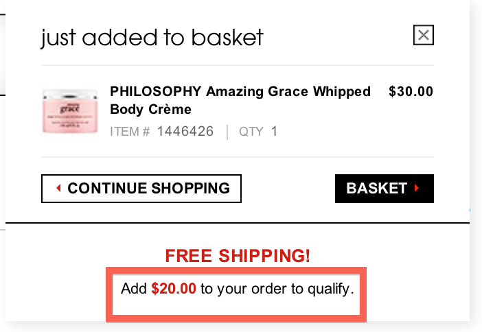 bundle shipping example