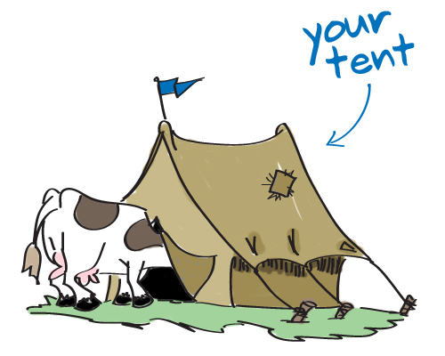 Who's In Your Tent? You'd Better Find Out!