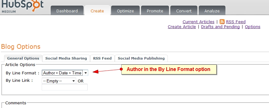 author by line format