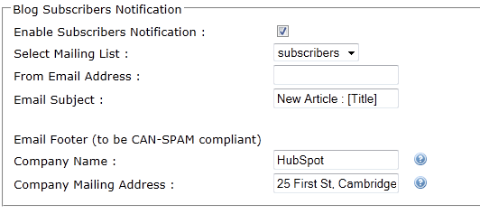 Updates to Blog Subscriber Emails and the Removal of Powered by HubSpot