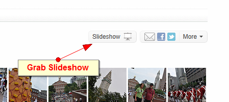 grab flickr slideshow