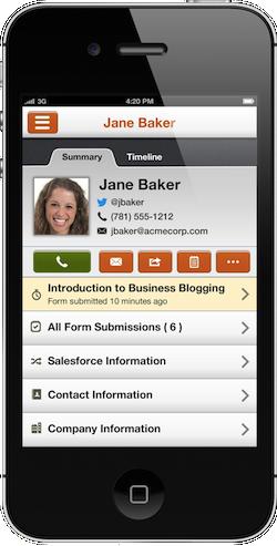 hubspot iphone app