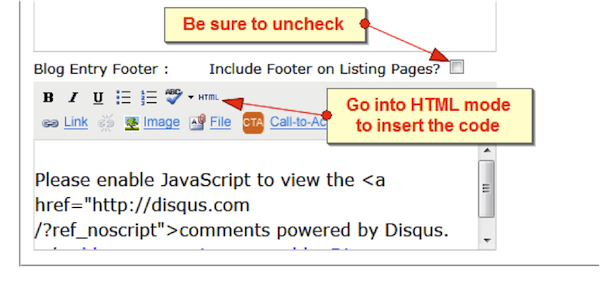 How to Enable DISQUS for Blog Comments on HubSpot 69288c2d37