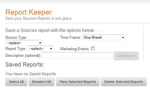hubspot report keeper app