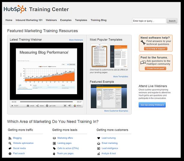 hubspot training center