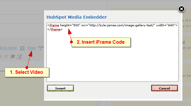 image gallery embed