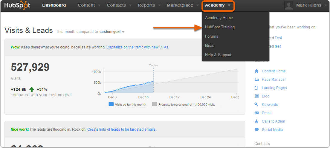 New HubSpot Academy Training Now at Your Fingertips
