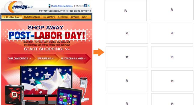 newgg-ecommerce-email