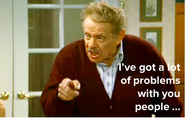 A Festivus for the Rest of Us! The Airing of Marketing Grievances