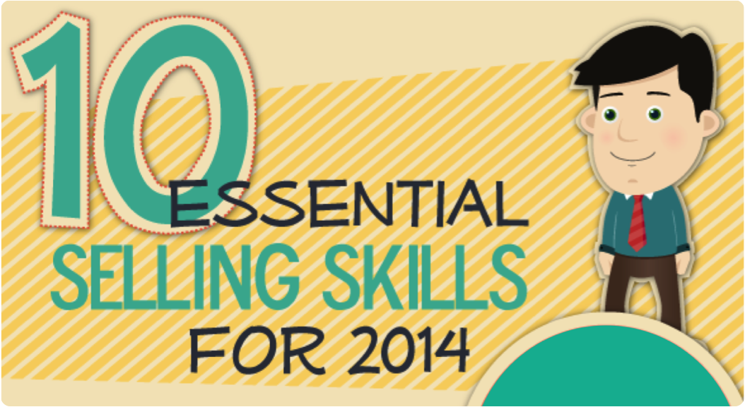 The 10 Essential Selling Skills Every Sales Rep Needs in 2014 [Infographic]